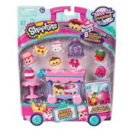 Shopkins Season 8 Deluxe Pack - World Vacation Europe - Petite Sweets Collection
